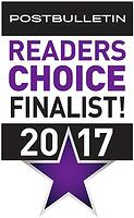 2017 Readers Choice - Finalist Badge
