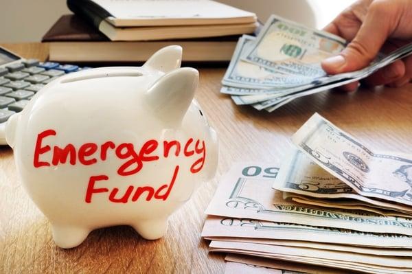 Emergency fund, emergency money, savings