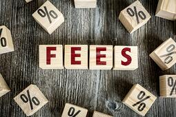Wooden Blocks with the text Fees spelled out | First Alliance Credit Union