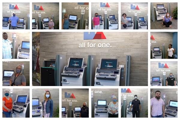 Advisor Supported Kiosk ITM Video Teller Machine First Alliance Credit Union Rochester MN
