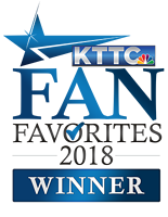 KTTC Fan Favorites Logo 2018 Winner Best Financial Institution First Alliance Credit Union