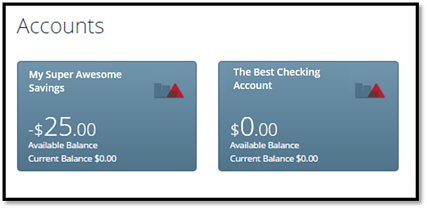 First Alliance Credit Union | Online Banking | Nickname Your Accounts