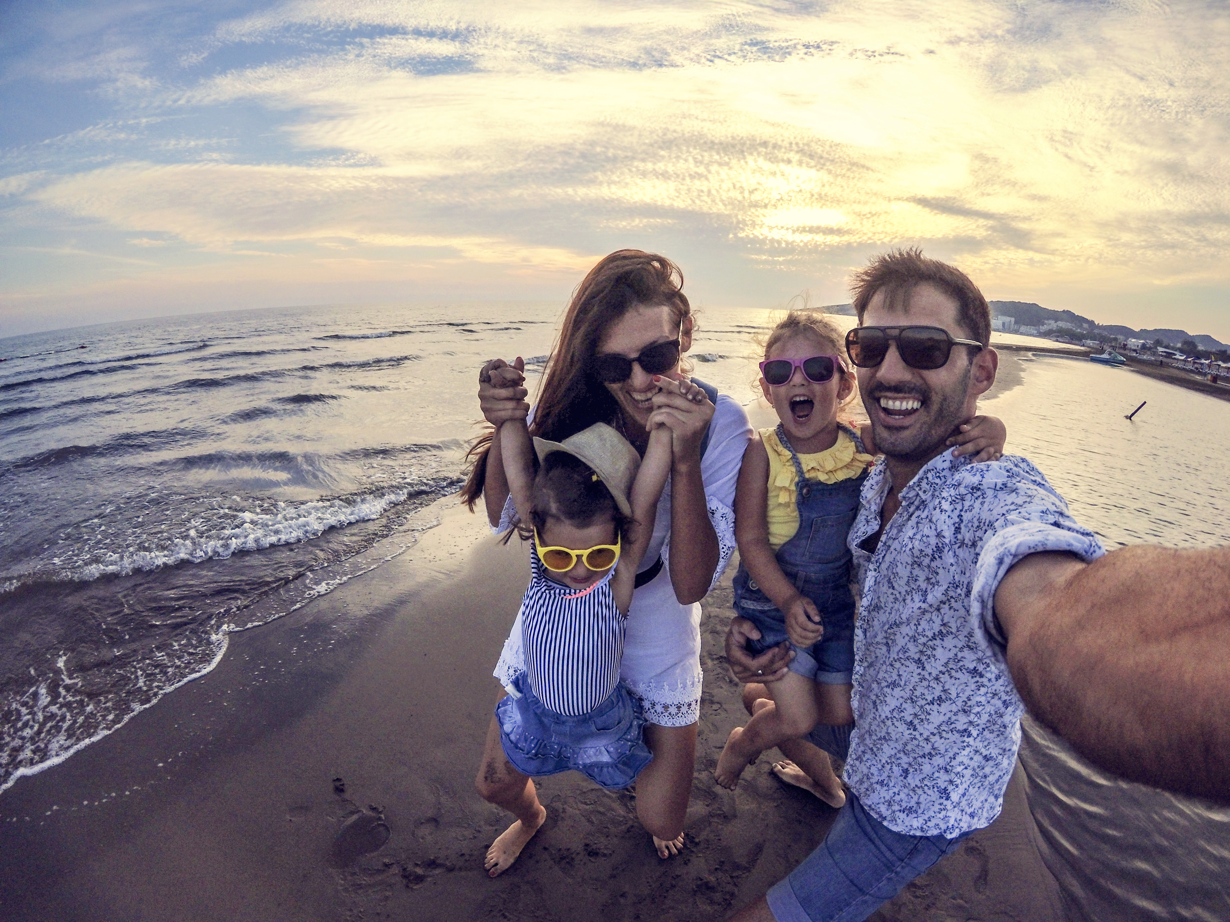 Family on Vacation   First Alliance Credit Union