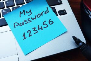 Example of a bad Password  | First Alliance Credit Union