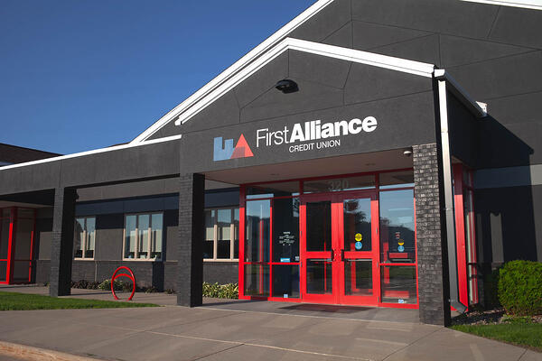 320 Alliance Pl NE Rochester Branch - Main Entrance View