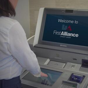 Advisor Supported Kiosk First Alliance Credit Union Stewartville MN