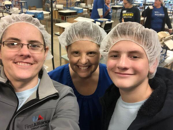 feed starving children - all for one day