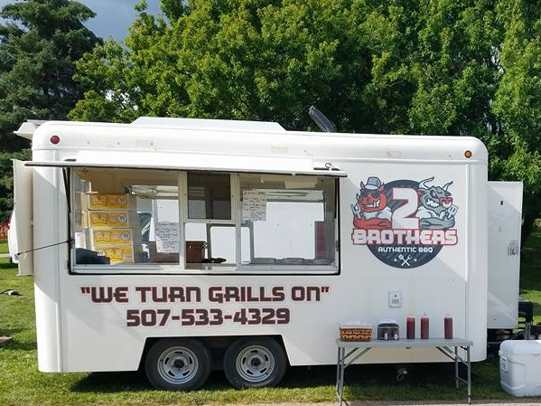 2 brothers bbq food truck at first alliance credit union