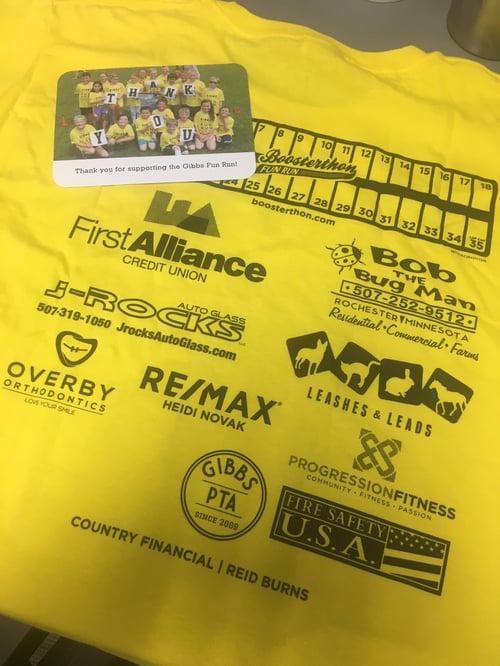 Gibbs Elementary School Fun Run 2018 | First Alliance Credit Union | Rochester MN