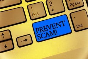 Prevent Scam Button | First Alliance Credit Union