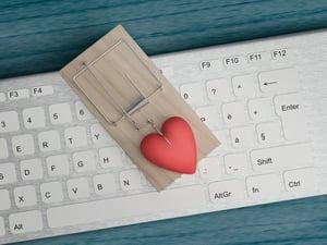 love trap romance scam online fraud