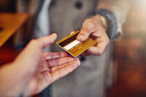 credit card in hand | First Alliance Credit Union