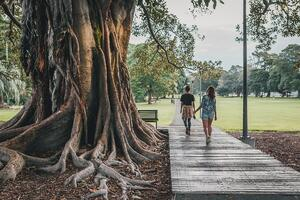 Couple walking | First Alliance Credit Union