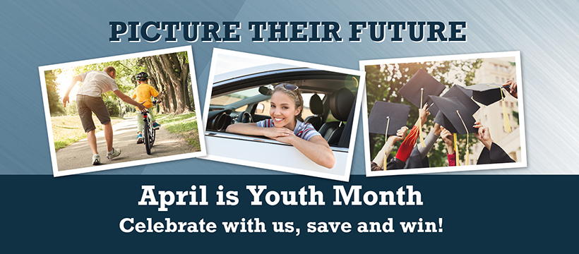 April is Youth Month at First Alliance Credit Union, Youth and Teen Savings Accounts